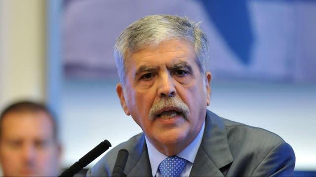 El ex ministro de Planificación, Julio De Vido