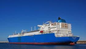 El buque Lena River salió el 13 de agosto de Nigeria