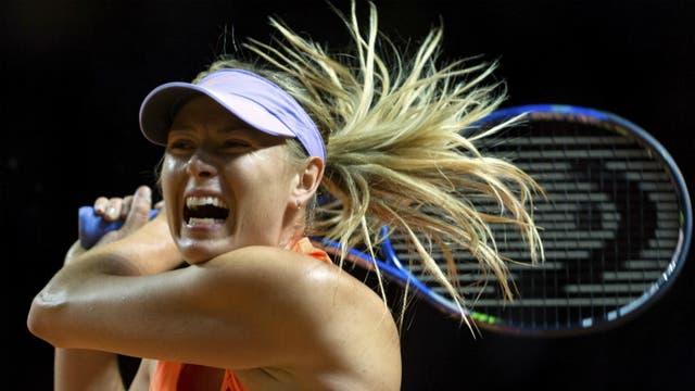 Sharapova volvió con la potencia de siempre
