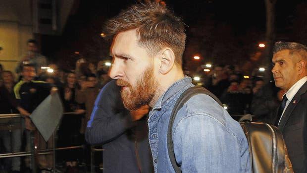 Leo ya está en Barcelona, junto a su familia