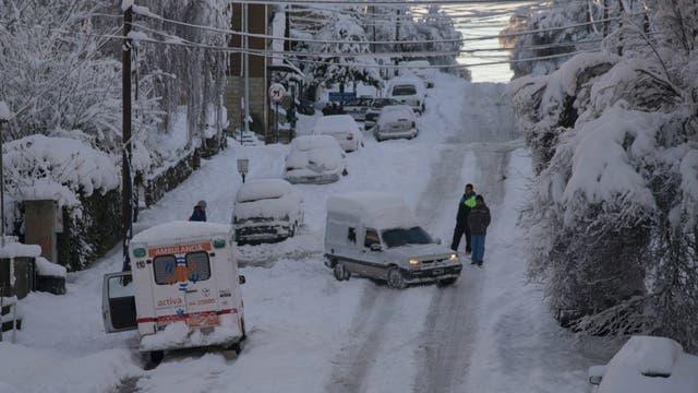 Así quedó Bariloche tras la tormenta de nieve