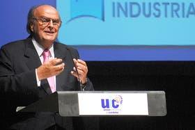 El ex titular de la UIA y actual candidato a diputado nacional por el Frente Renovador, José Ignacio De Mendiguren