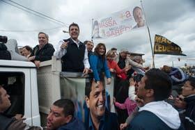 Massa y sus candidatos fueron agredidos ayer en Ciudad Evita
