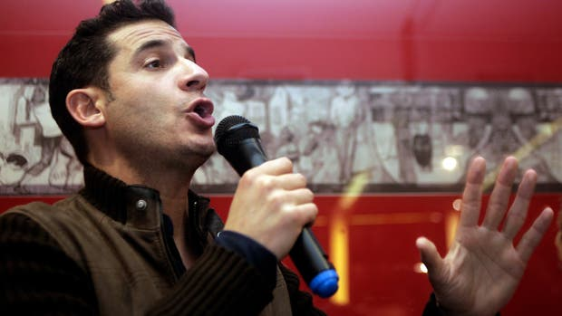 El pre candidato a diputado nacional por 1País Matías Tombolini