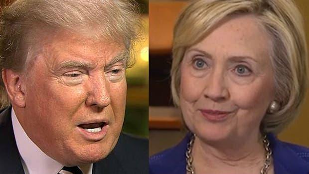 Trump y Hillary, cada vez más cerca en las encuestas