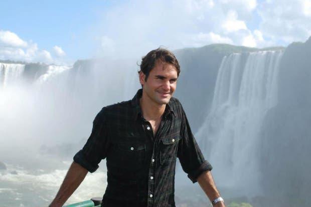 Roger visitó las Cataratas de Iguazú y subió algunas fotos a su perfil de Facebook.