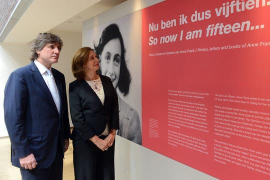 En Amsterdam, para asistir a la entronización de Máxima. Foto: Télam