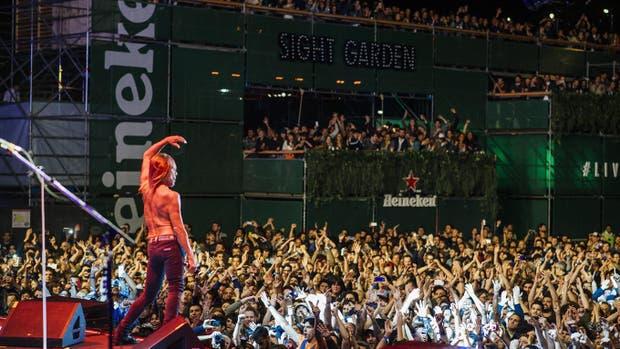 Iggy Pop, una de las estrellas que pasaron por el Festival BUE 2016