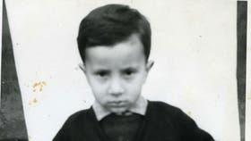 Alma Sánchez, de pequeña