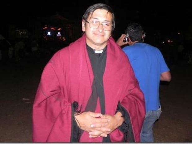 """El sacerdote Jorge """"Pato"""" Gómez"""