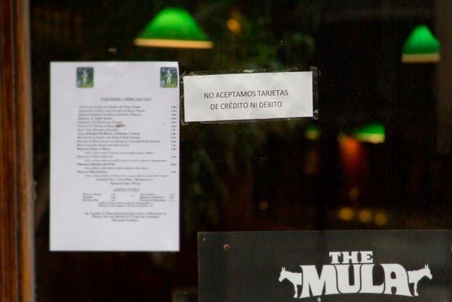 Una imagen que crece en los bares de Buenos Aires