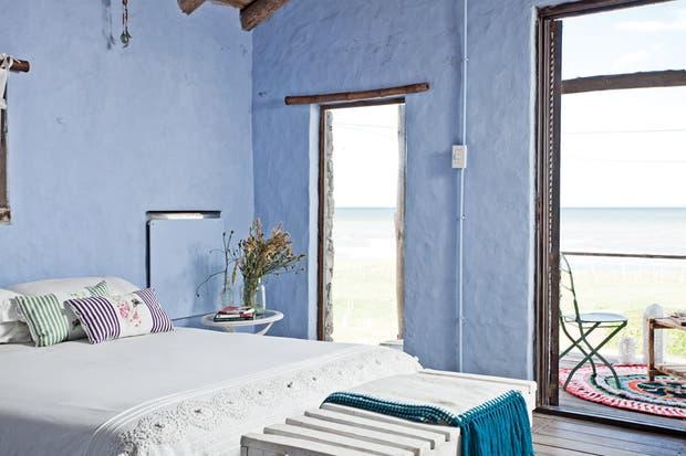 Una cabaña con estilo rústico   living   espacio living