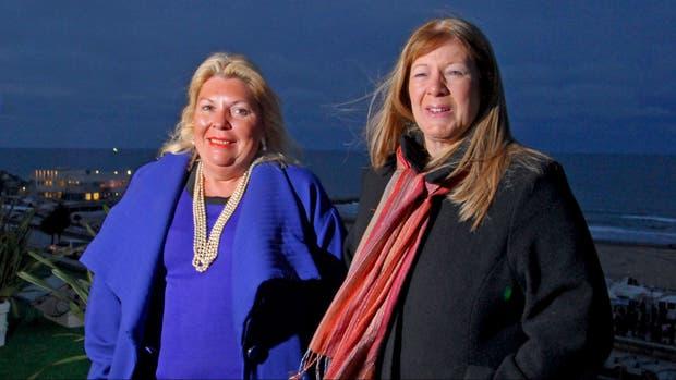 Carrió y Stolbizer, en 2009; hoy pertenecen a partidos distintos, pero coinciden en denunciar casos de corrupción durante el kirchnerismo
