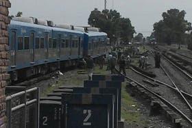 Un nuevo descarrilamiento de un tren en Castelar