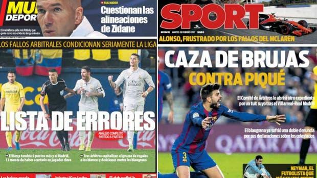 Los diarios de Barcelona, contra los arbitrajes