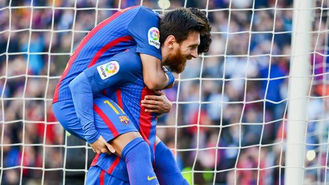 Messi marcó dos goles en la victoria de Barcelona 4 a 1 ante Villarreal