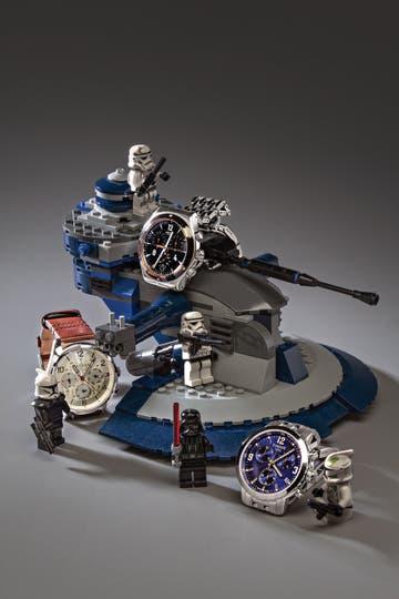 1. Reloj Destination Madrid (Swatch). 2. Reloj con correa de cuero (Tommy Hilfiger). 3. Reloj con malla de metal (Tissot). Foto: Silvio Zuccheri