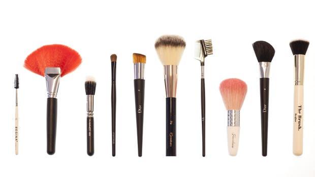 Brochas, cepillos y pinceles específicos para cada función