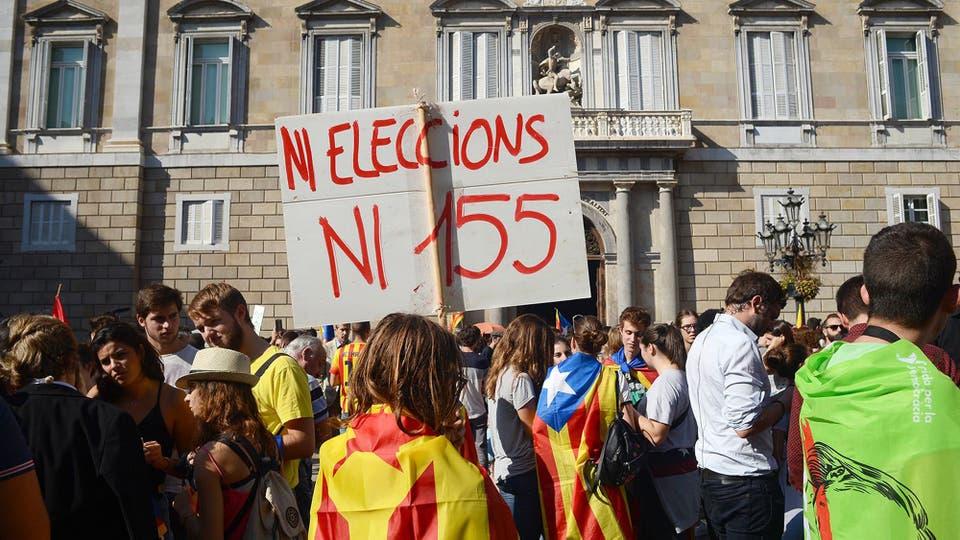 Día de infarto en Cataluña, con posible fracaso del plan independentista y llamado a elecciones