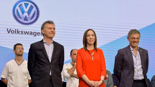 Macri estuvo ayer con Vidal en una planta automotriz; horas después se conoció el beneficio extra que le otorgó