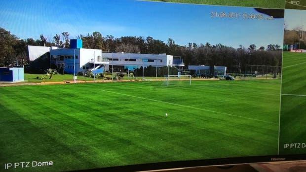 ¿Por qué instalaron cámaras en las canchas de entrenamiento de la Selección?