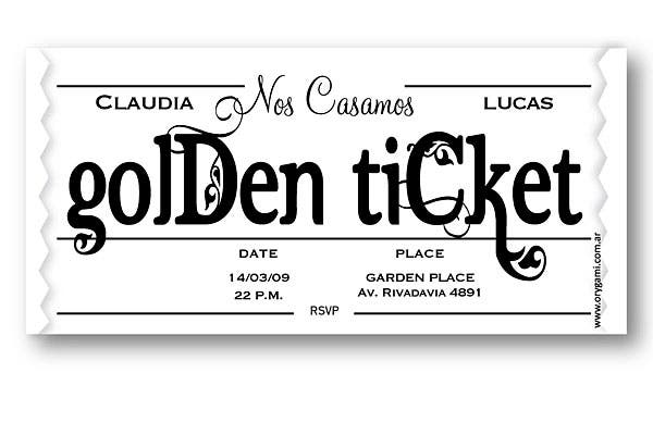 Estilo Golden Ticket.  Foto:  Gentileza Orygami