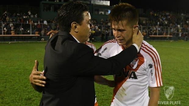 Gallardo confió en Alan Marcel Picazzo y tuvo respuesta: convirtió un gol en su debut con 18 años
