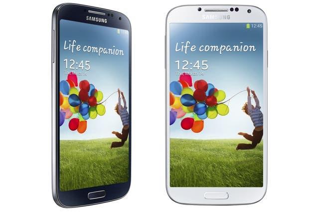 Los dos colores de Samsung Galaxy S4