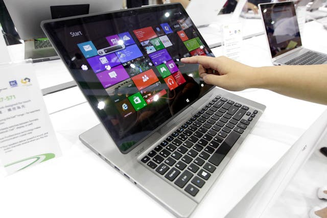 Una notebook convertible de Acer