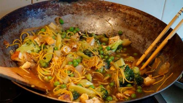 �Qu� pod�s cocinar con un wok m�s all� de la comida china?