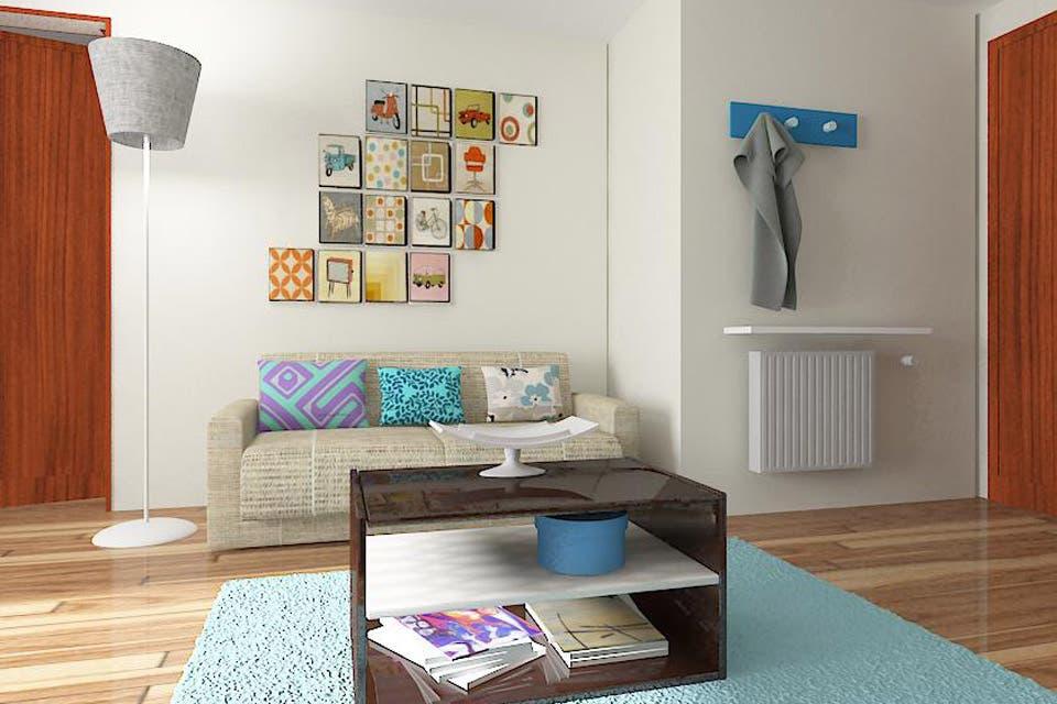 Solución 217: Una propuesta para decorar un living moderno con toques vintage