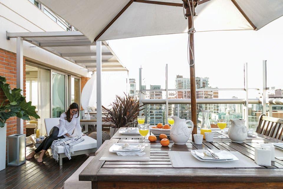 Dos propuestas para decorar una terraza