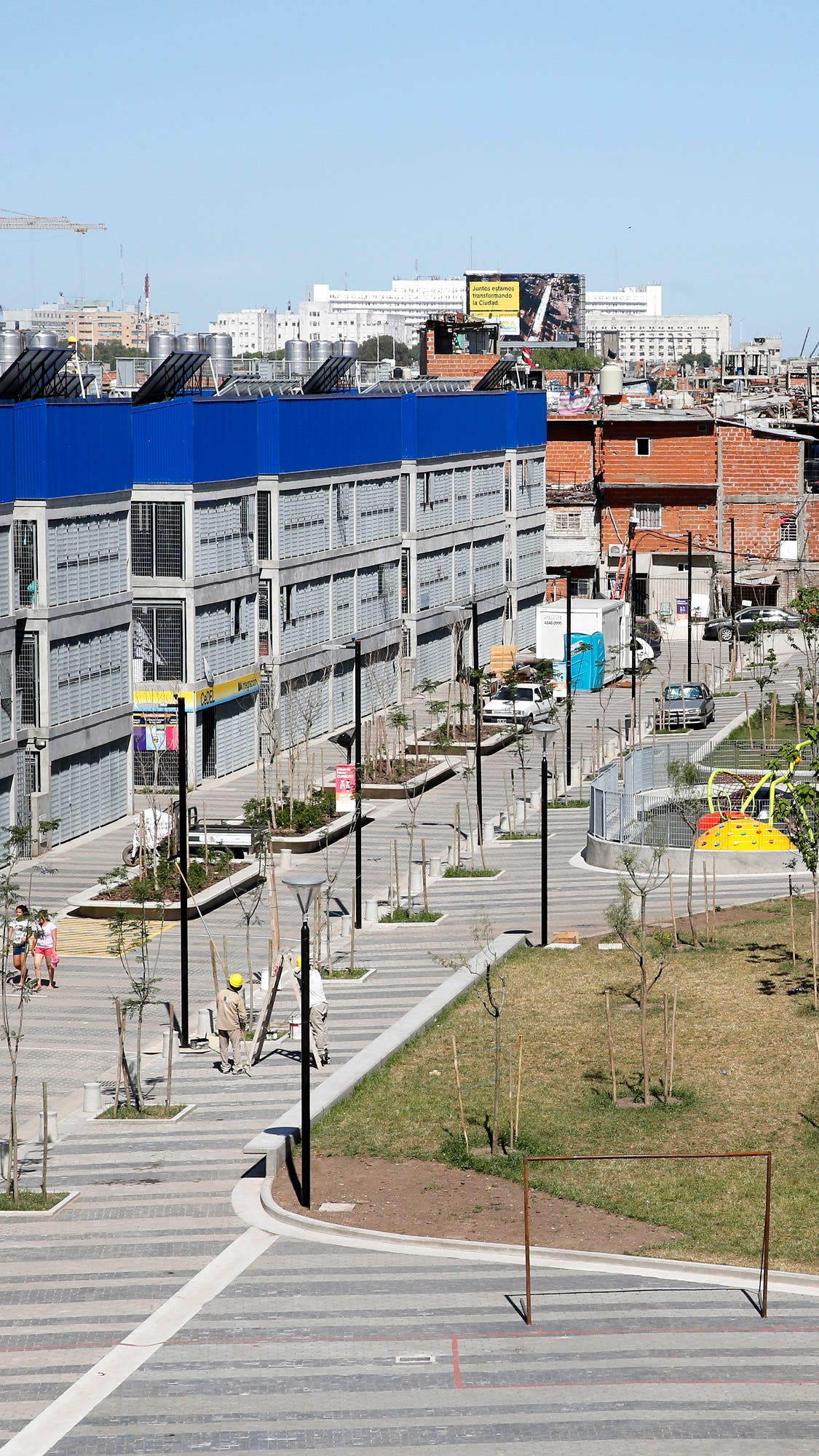 Cómo es La Containera, el nuevo barrio de la Villa 31 a ...