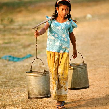 Asia es el continente con el menor volumen de recursos renovables de agua dulce por persona