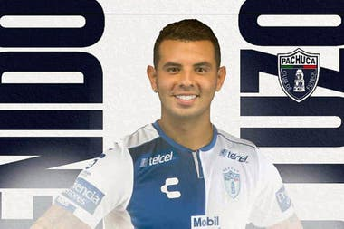 Colombian Edwin Cardona is no longer in Boca: he was presented in Pachuca, Mexico