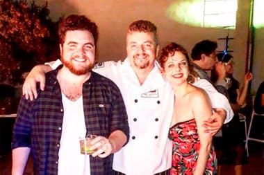 Gastón Cocchiarale y Florencia Dyszel