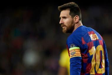 Lionel Messi, el capitán de Barcelona