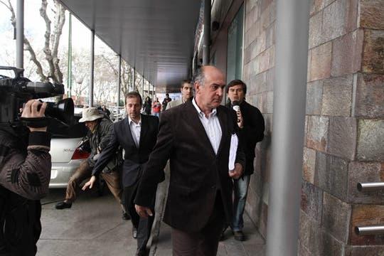 El secretario general de la Presidencia, Oscar Parrilli. Foto: LA NACION / Emiliano Lasalvia