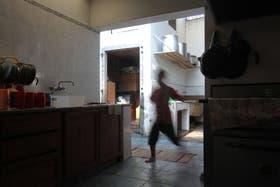 Por falta de dinero, las carencias del hogar Bethel son evidentes.