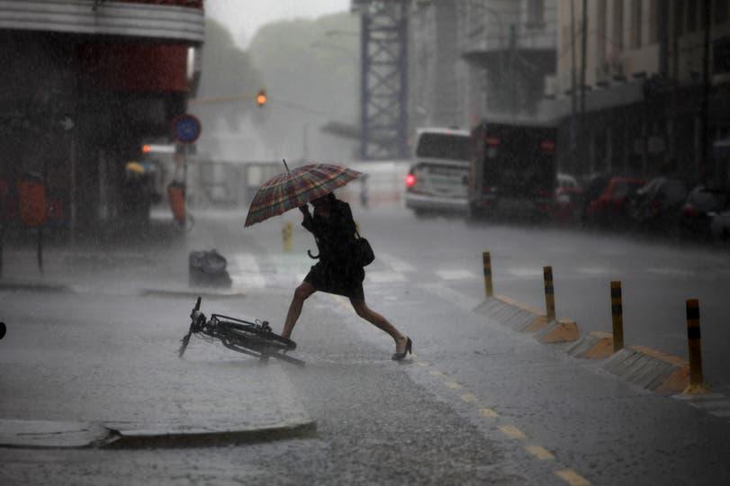 Diluvio en Buenos Aires, 9 de noviembre. Foto: LA NACION / Ezequiel Muñoz