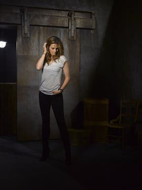 Stana Katic interpreta a la detective Kate Beckett en Castle