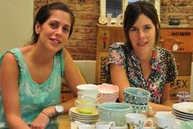 Malena Zimmer y Martina Urreaga, de Santa Pulga