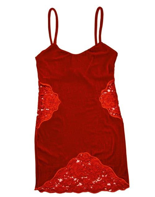 Vestido (Aynotdead, $798).