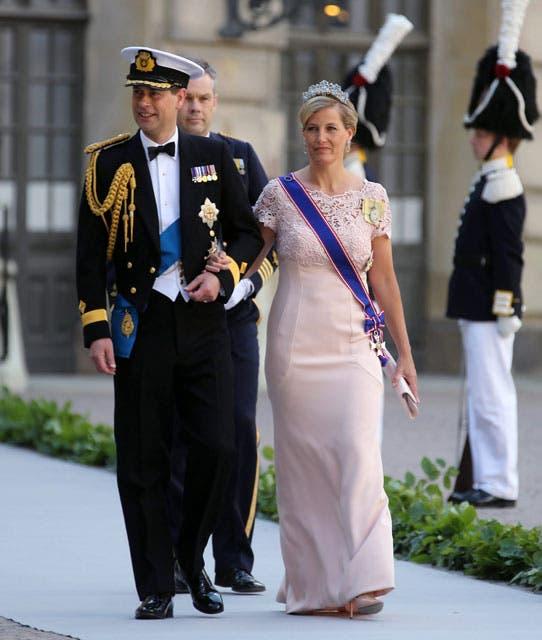 Los condes de Wessex asistieron en representación de la familia real británica. Foto: /AP y Getty