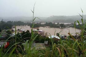 Preventivamente, autoridades de la provincia de Entre Ríos evacuaron a varias familias