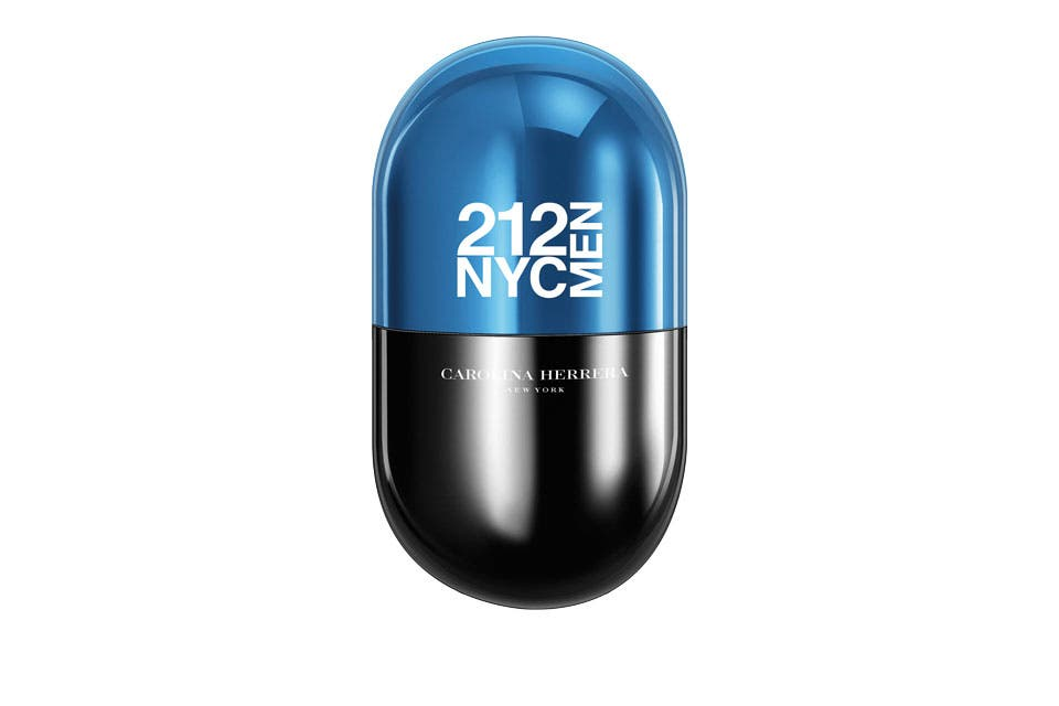 212 NYC MEN EDT X 20 ML, CAROLINA HERRERA, $800.