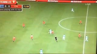 La jugada de Messi