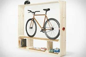 Objetos locos para guardar tu bicicleta