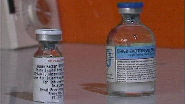 Gran parte del plasma utilizado para crear Facto VIII vino de donantes que estaban en prisión y vendían su sangre.