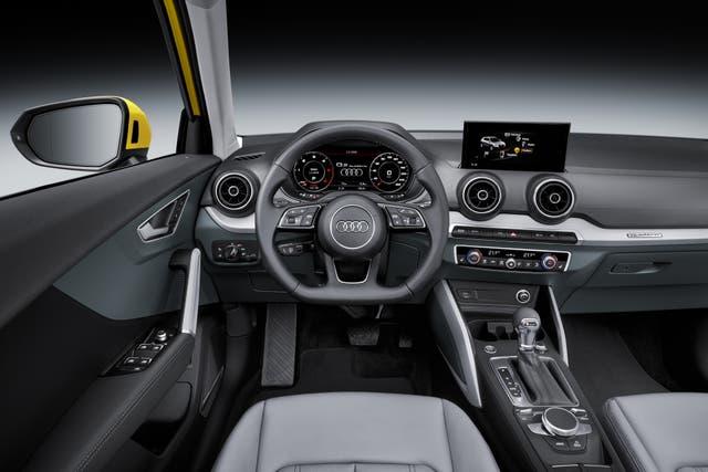 Interior del Audi Q2